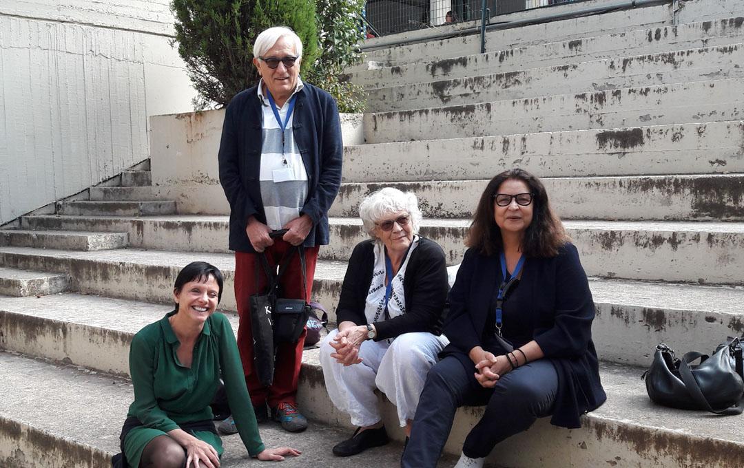 Visite de l'auteure Claire Nancy au LFHED-7