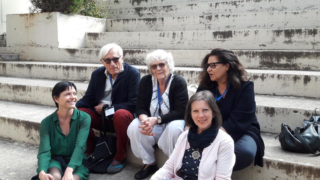 Visite de l'auteure Claire Nancy au LFHED-6