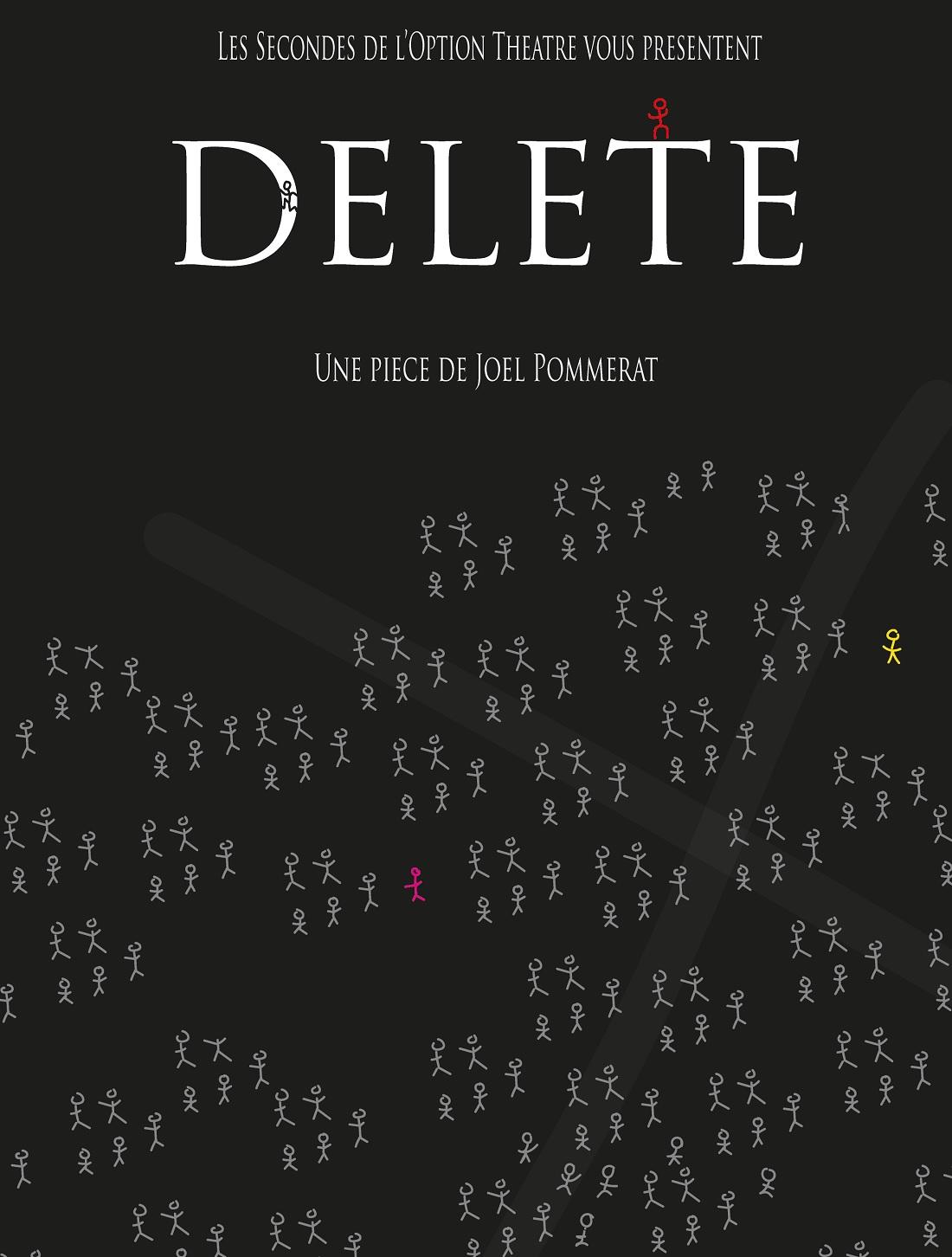 Les élèves de 2nde Option théâtre du LFHED vous convient à la représentation « Delete »