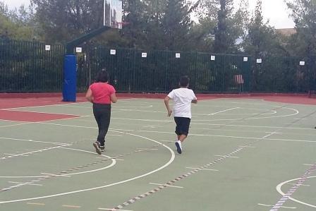 Journée sportive organisée pour les personnes handicapées de l'Attique-16