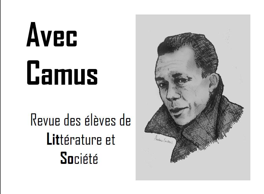 Littérature et société: réalisation d'une revue Avec Camus