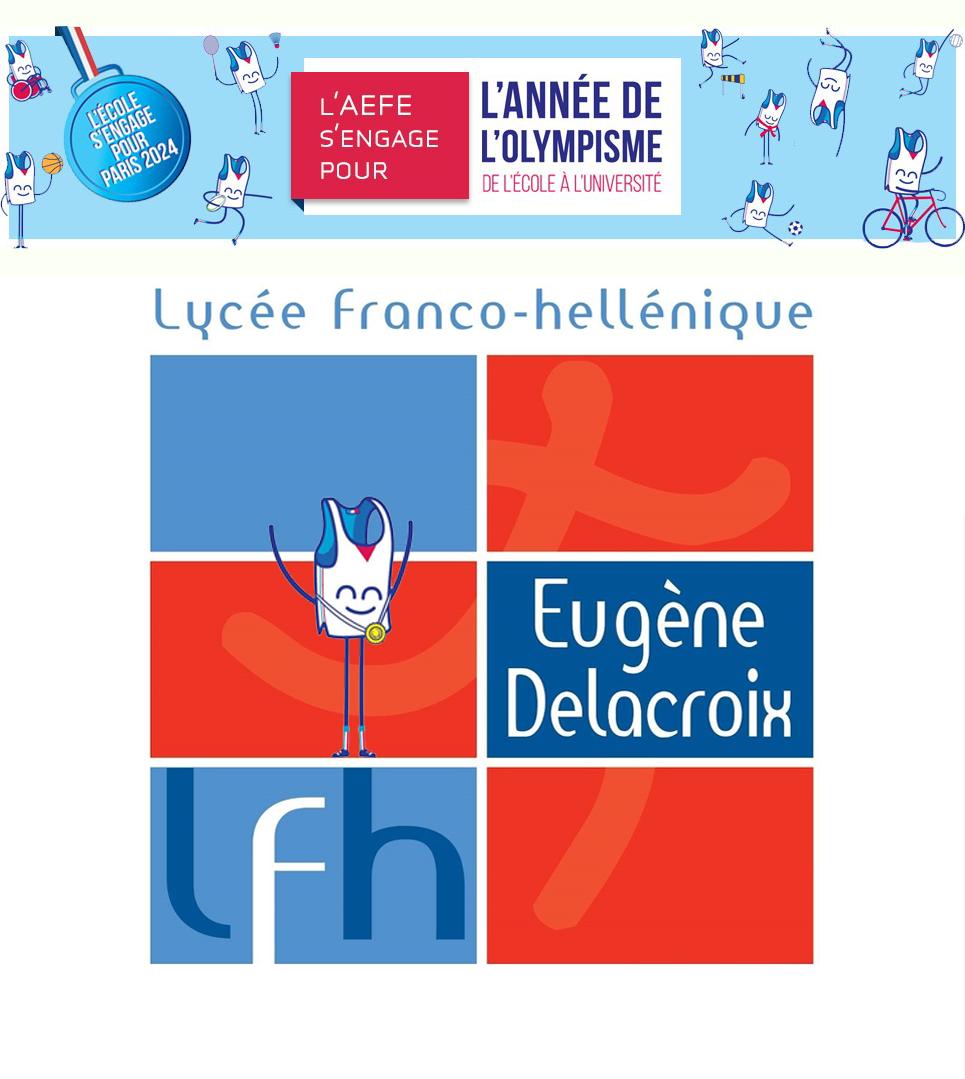 Année de l'Olympisme - La Grande Course du LFHED | Ετος Ολυμπισμού - Η μεγάλη κούρσα-1