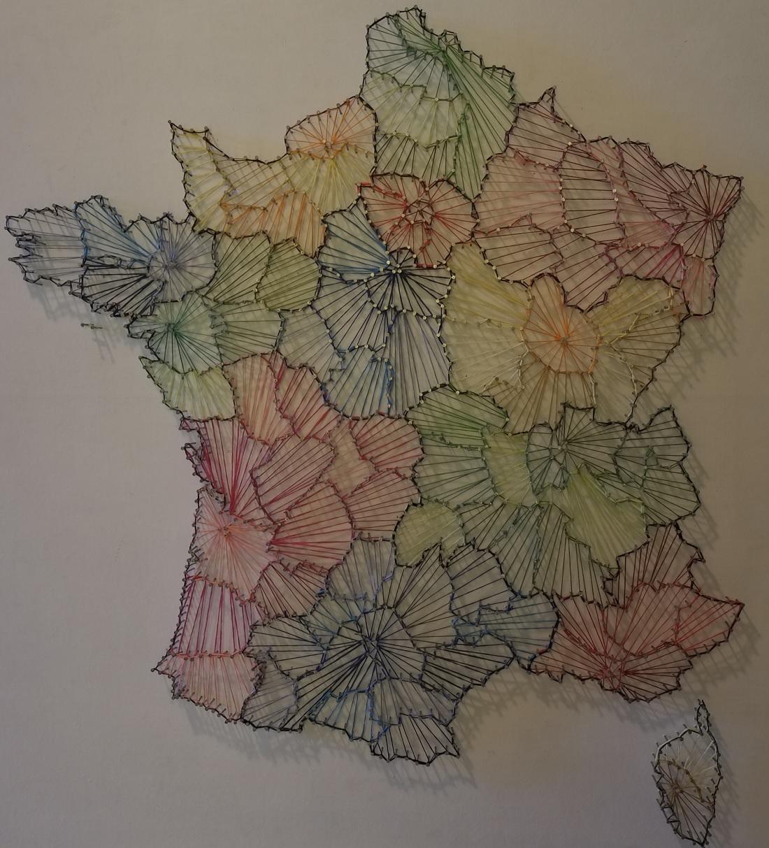 Une lauréate du concours de cartographie « Carte blanche » au LFHED