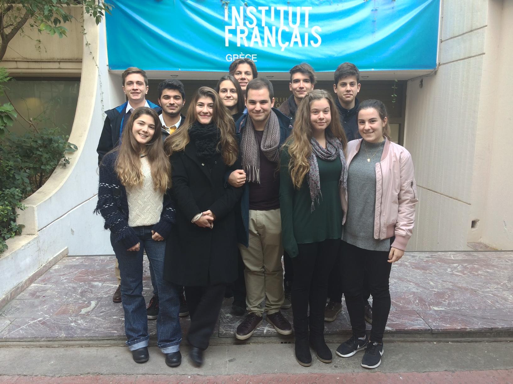 Une rencontre autour de la citoyenneté avec les ExploratEURs de l'Engagement pour nos élèves du CVL (Conseil de la Vie Lycéenne)