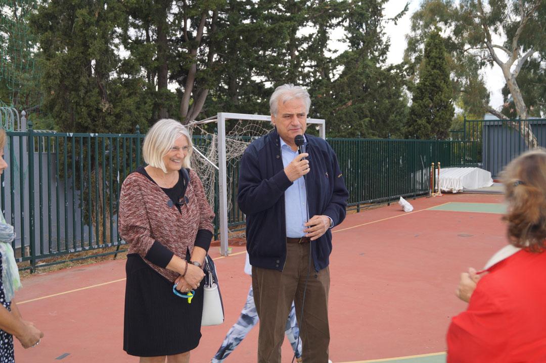 Journée sportive organisée pour les personnes handicapées de l'Attique-2