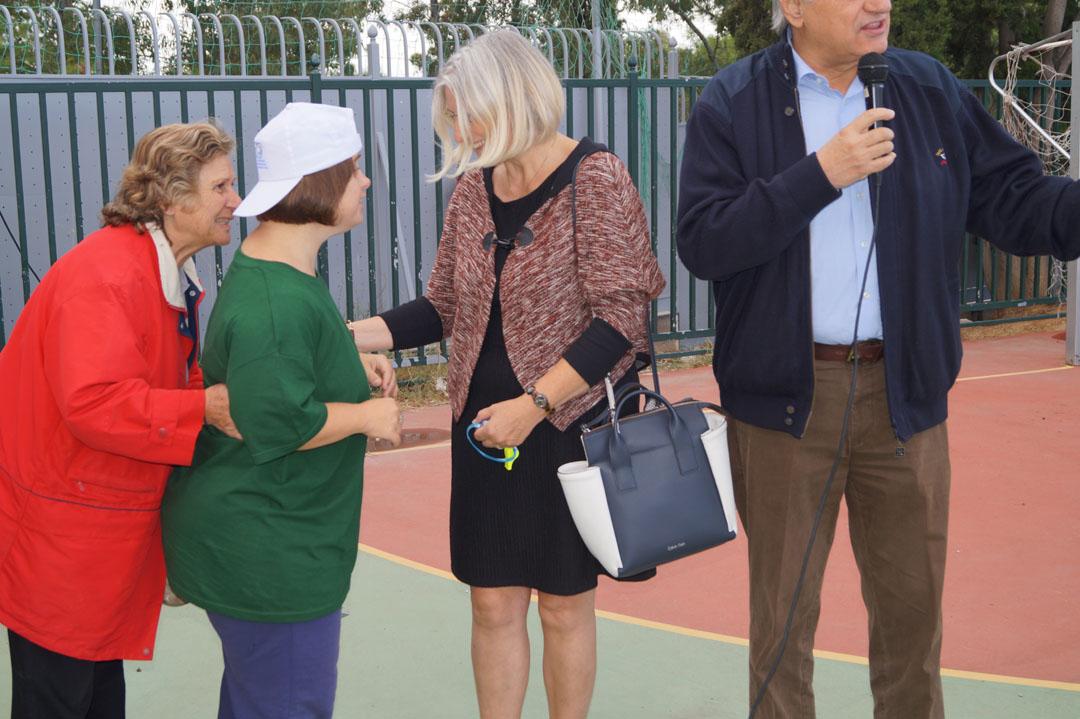 Journée sportive organisée pour les personnes handicapées de l'Attique-3