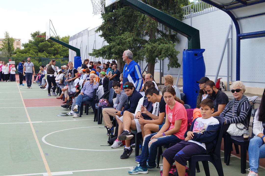 Journée sportive organisée pour les personnes handicapées de l'Attique-12