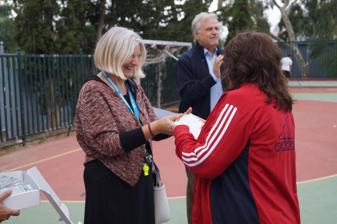 Journée sportive organisée pour les personnes handicapées de l'Attique-10