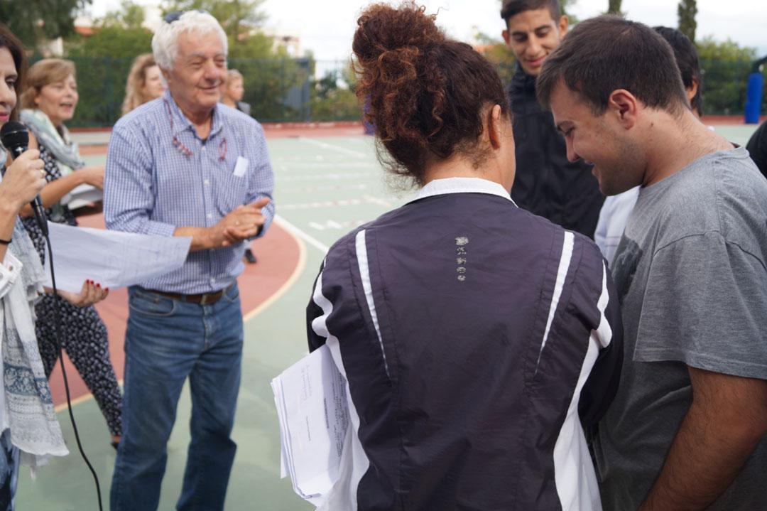 Journée sportive organisée pour les personnes handicapées de l'Attique-9