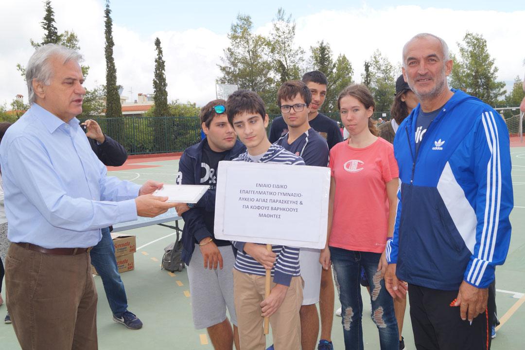 Journée sportive organisée pour les personnes handicapées de l'Attique-8