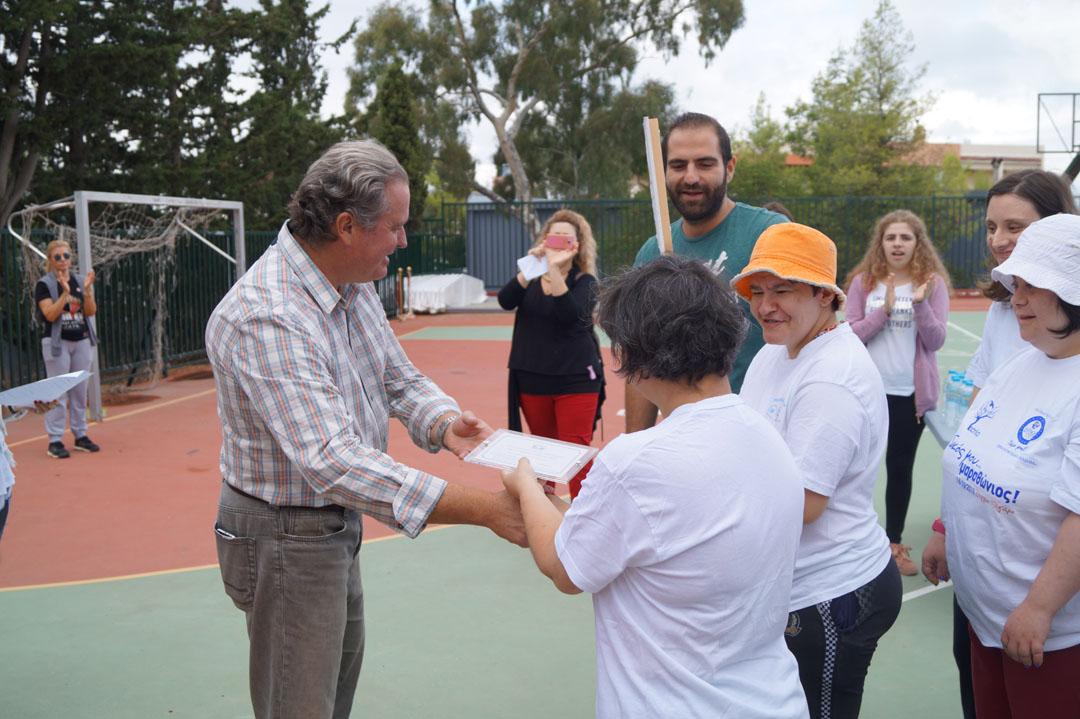 Journée sportive organisée pour les personnes handicapées de l'Attique-6