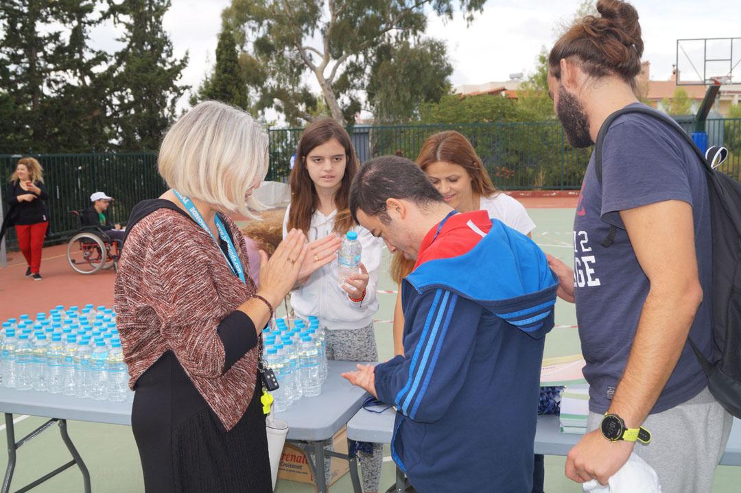 Journée sportive organisée pour les personnes handicapées de l'Attique-19