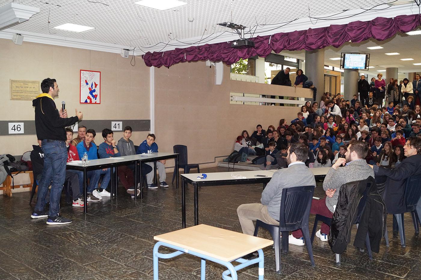 Εκδήλωση – συζήτηση με με θέμα «Ο Αθλητισμός είναι πολιτισμός».-1