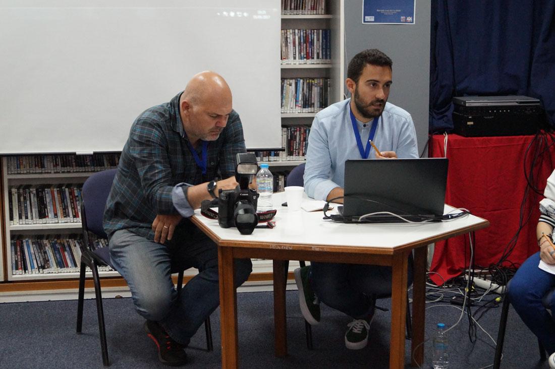 Δημοσιογράφοι και ρεπόρτερ στην Εβδομάδα Τύπου και ΜΜΕ του LFH-ED-6