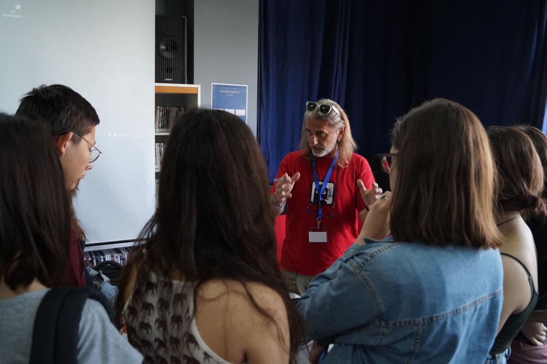 Δημοσιογράφοι και ρεπόρτερ στην Εβδομάδα Τύπου και ΜΜΕ του LFH-ED-4