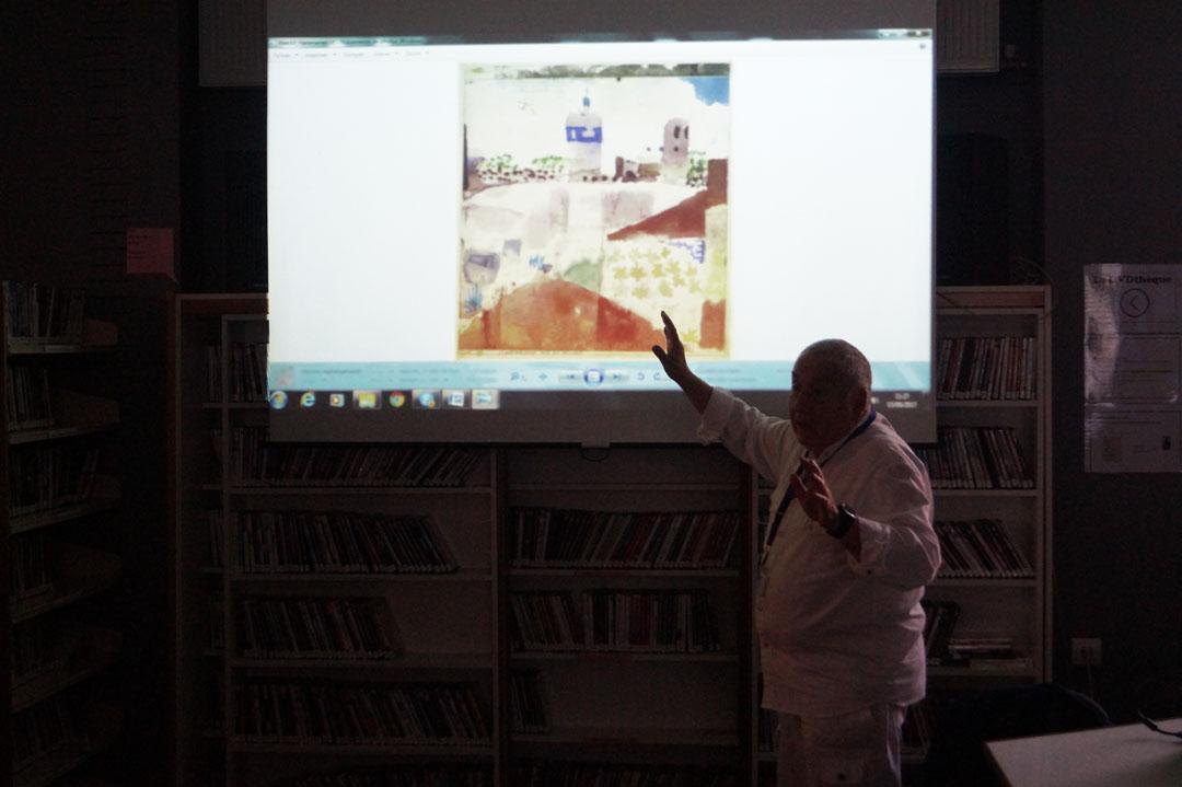 Παρoυσίαση του έργου του Paul Klee από τον ομότιμο καθηγητή πανεπιστημίου Claude Frontisi στο LFHED-3