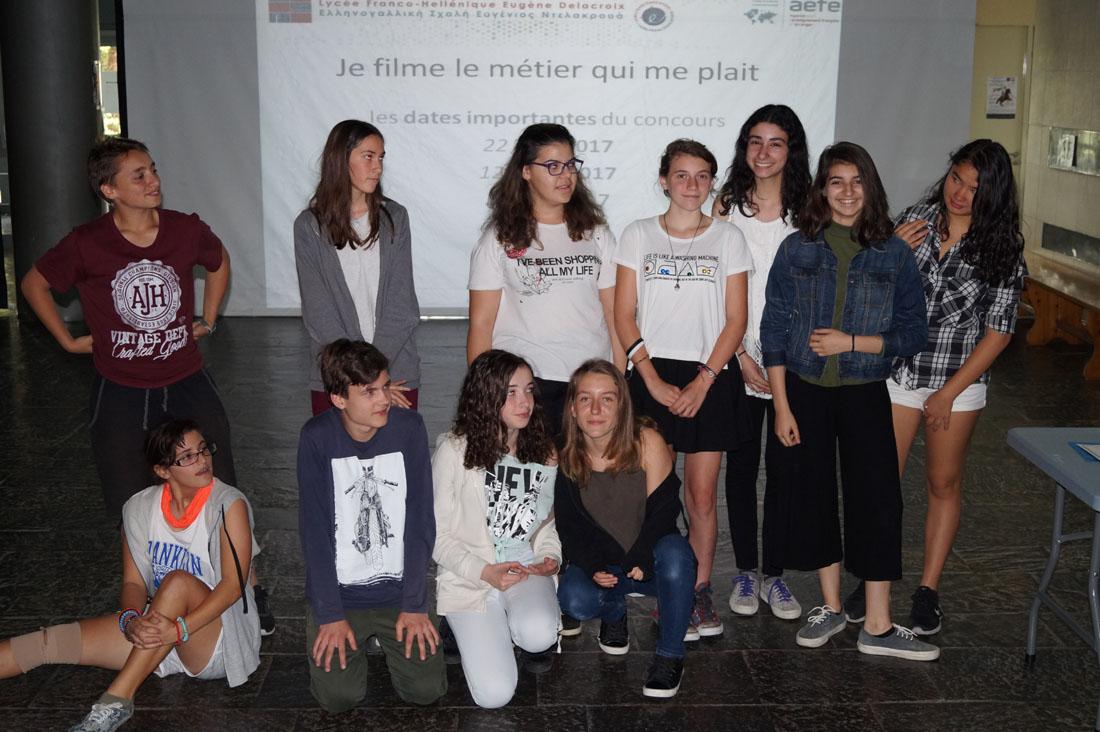 """Les élèves du LFHED remportent un prix au concours """"Je filme le métier qui me plaît"""""""