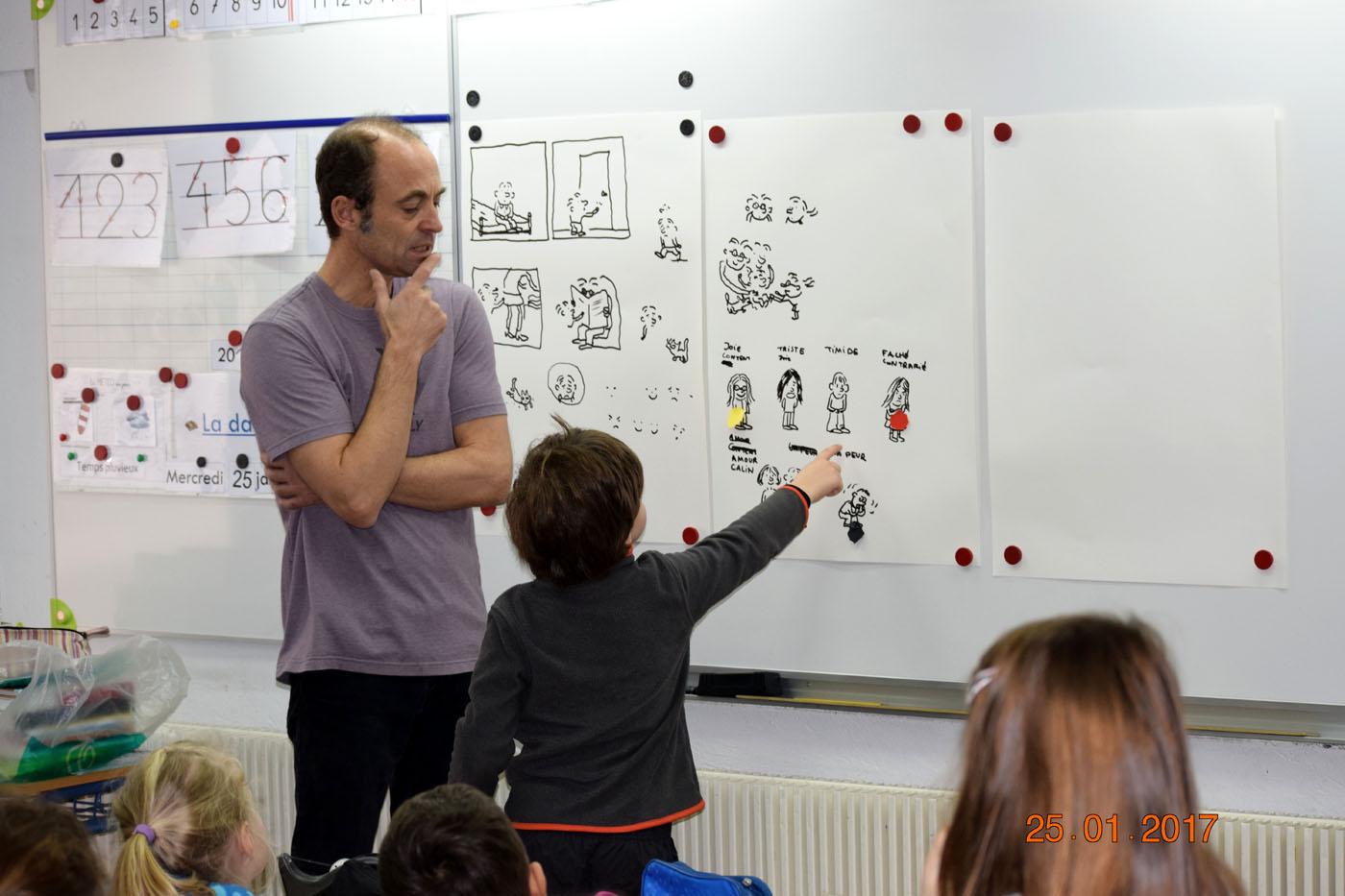 Jérôme Ruillier : un auteur-illustrateur rencontre les élèves-0