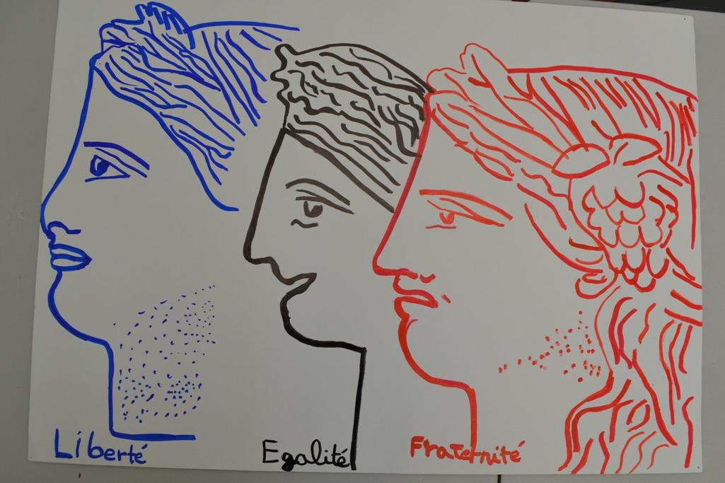Concours de dessin sur le thème liberté, égalité, fraternité-9