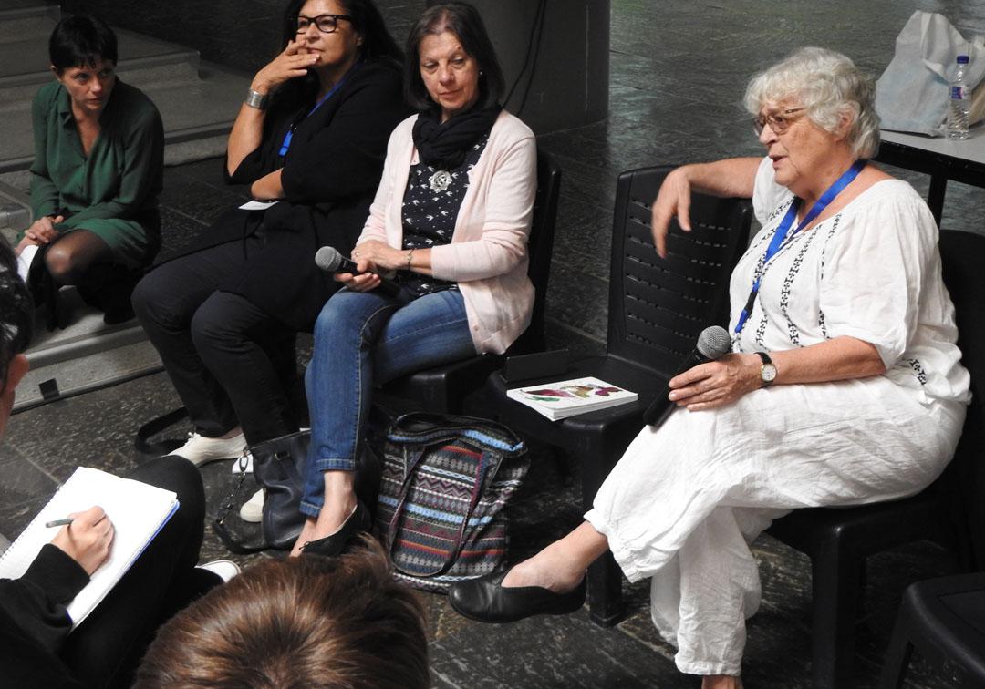 Visite de l'auteure Claire Nancy au LFHED-1