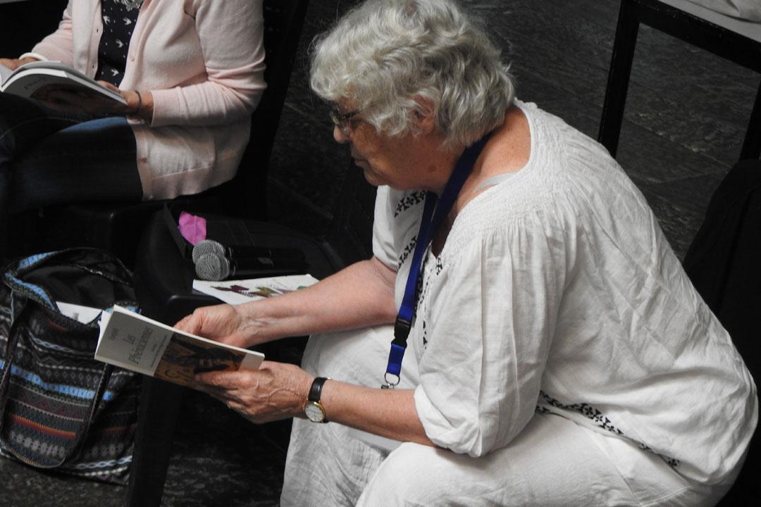 Visite de l'auteure Claire Nancy au LFHED-2