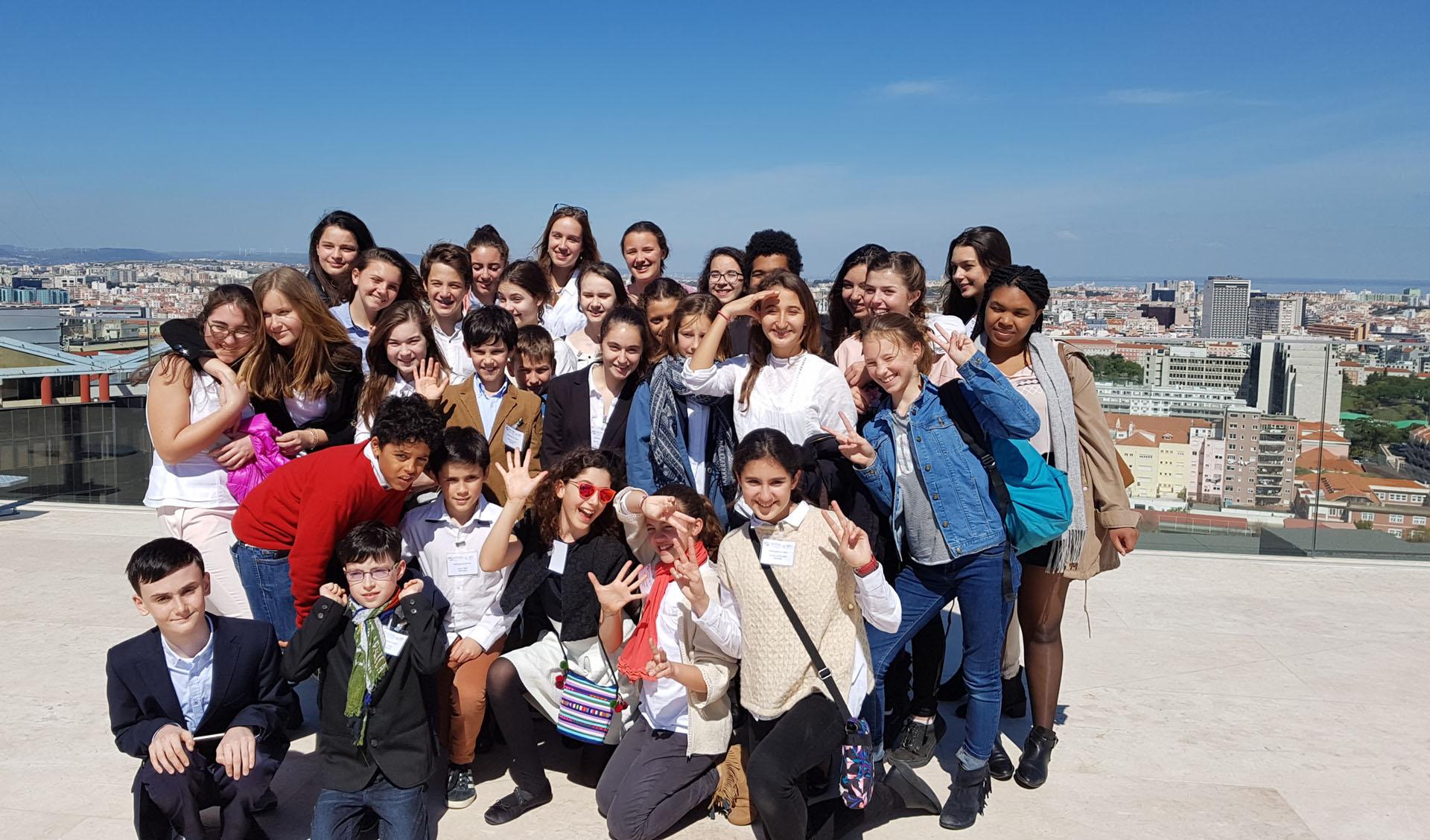 Ambassadeurs en herbe au niveau régional à Lisbonne-0