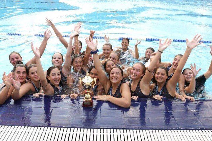 4 élèves du LFHED championnes de water-polo !-1