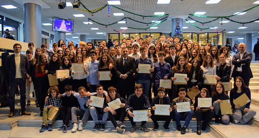 Cérémonie officielle de remise des diplômes du DNB et de l'examen d'anglais IGCSE-0
