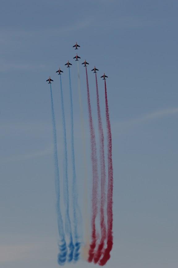 Nos élèves vidéastes interviewent les pilotes de la Patrouille de France-17