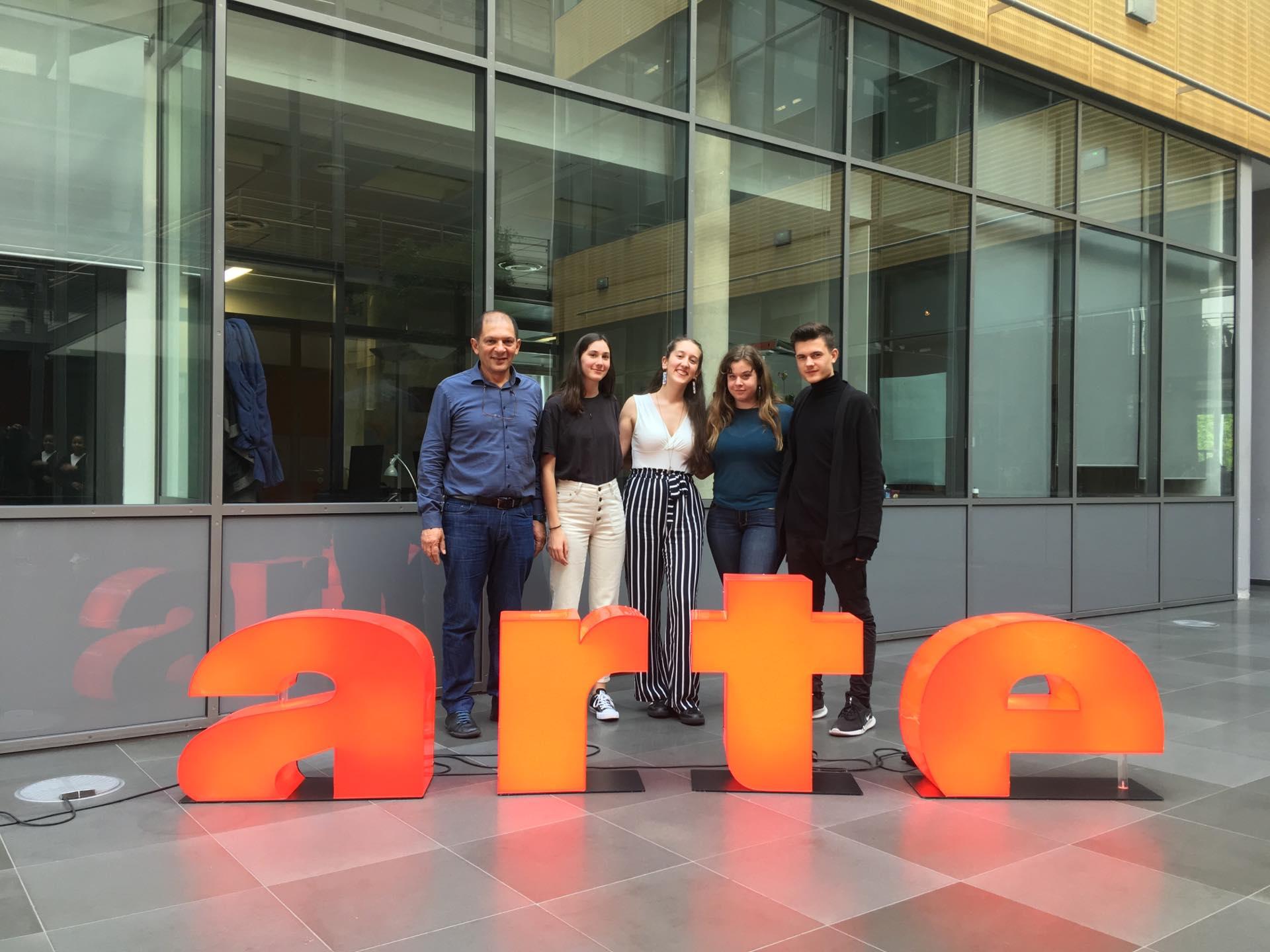 L'équipe vidéo du LFHED remporte le 3e prix au Concours Arte-Clemi-0