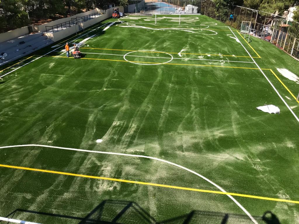 Le terrain de football du LFHED fait peau neuve !-2