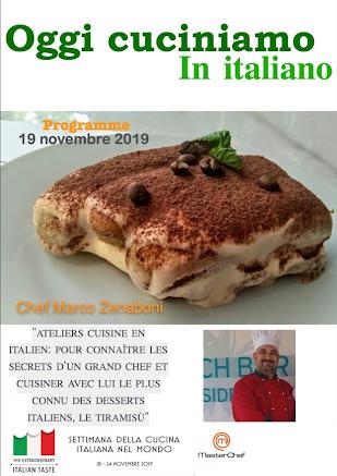 Ateliers cuisine en italien pour fêter la semaine de la gastronomie italienne dans le monde-2