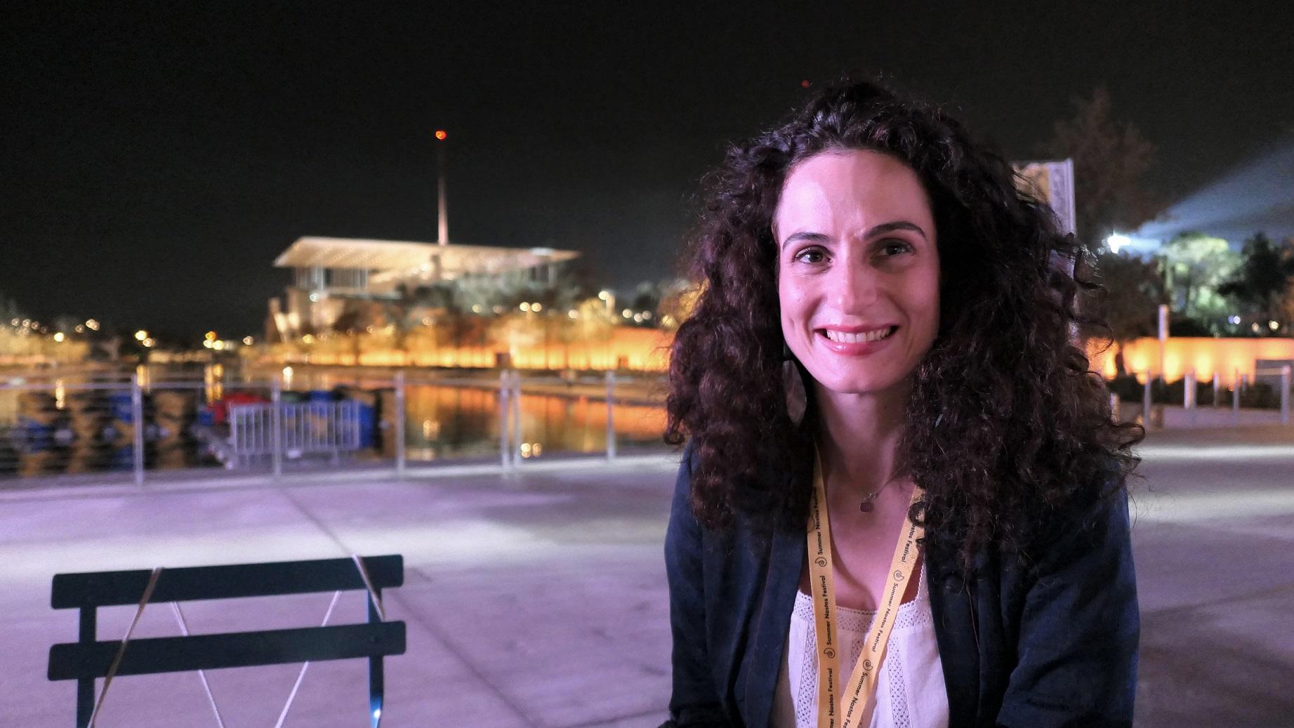 Anna Maria Kosmoglou, Gestion des dons à la Fondation Stavros Niarchos