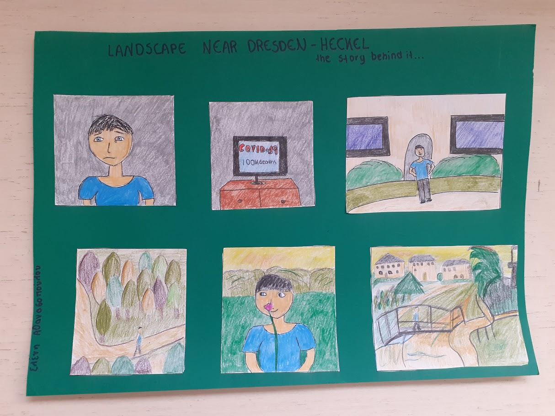 Οι μαθητές της Γ' Γυμνασίου εκφράζονται μέσω της τέχνης κατά τη περίοδο του εγκλεισμού-2
