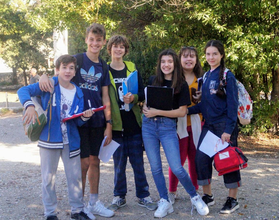 Les élèves de 3e4 sur les traces des Révoltés d'Athènes-2