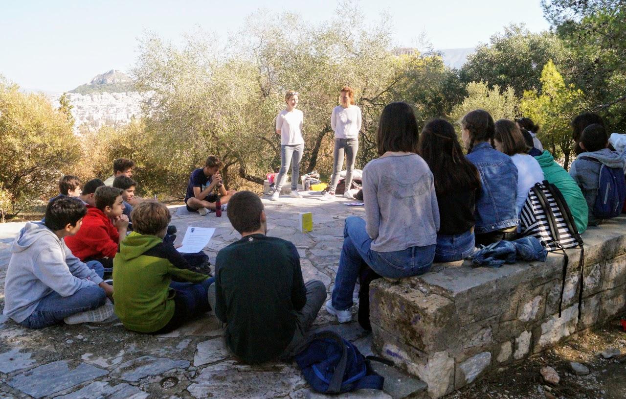Les élèves de 3e4 sur les traces des Révoltés d'Athènes-0