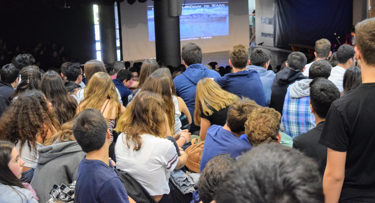 Οι μαθητές του LFHED τιμούντην επέτειοτου ΟΧΙ-2