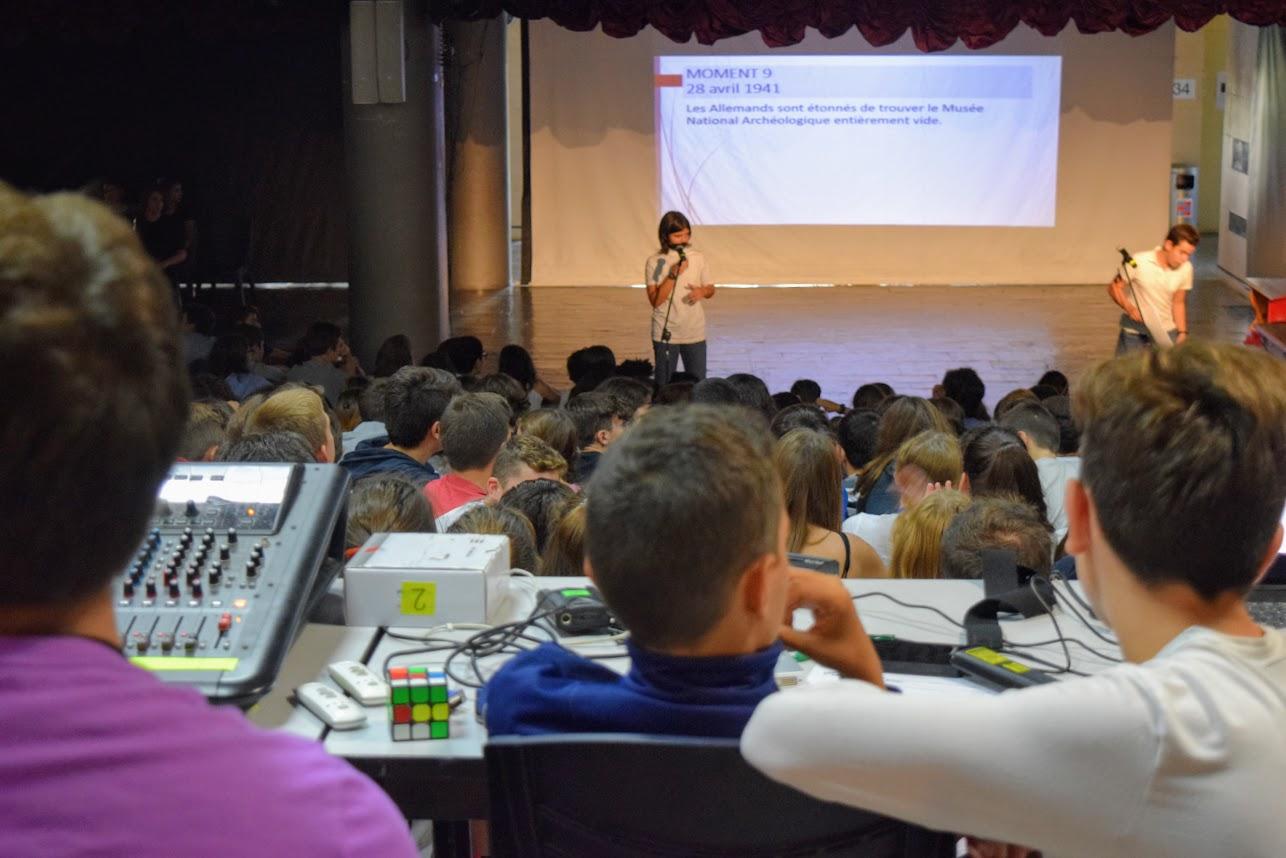 Οι μαθητές του LFHED τιμούντην επέτειοτου ΟΧΙ-5