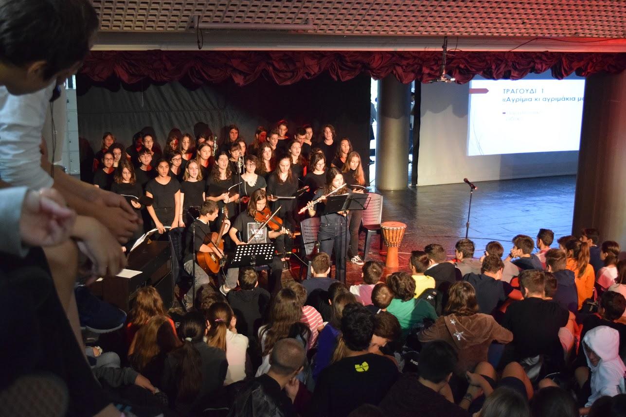 Οι μαθητές του LFHED τιμούντην επέτειοτου ΟΧΙ-6