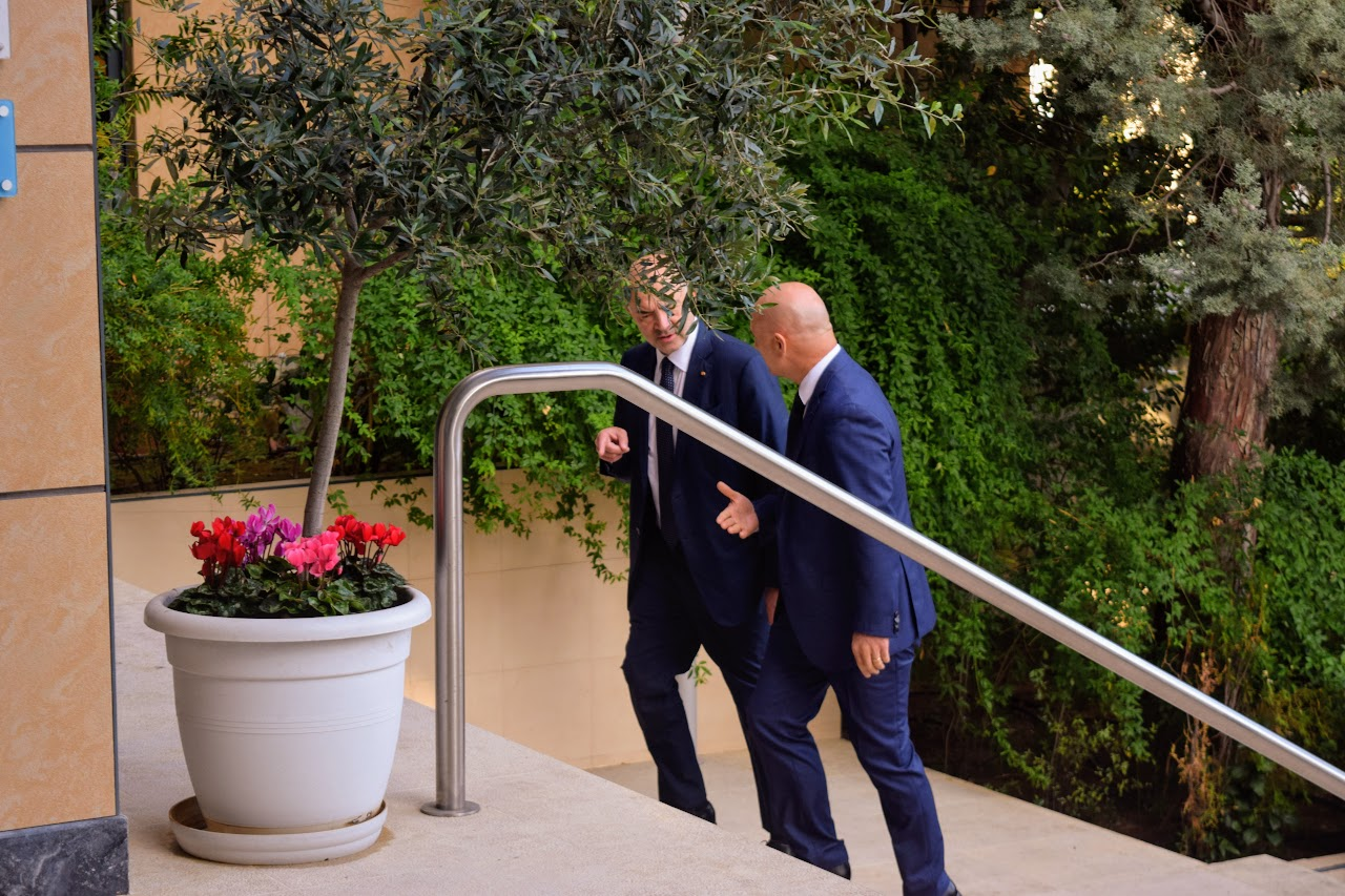 Visite de Pierre Moscovici au LFHED-1