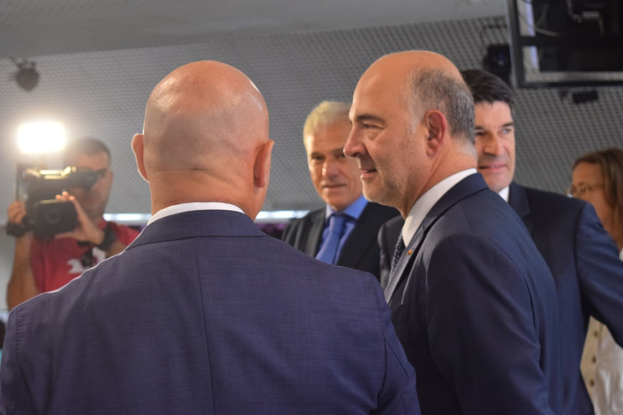 Visite de Pierre Moscovici au LFHED-3