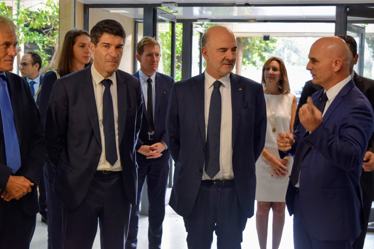 Visite de Pierre Moscovici au LFHED-2