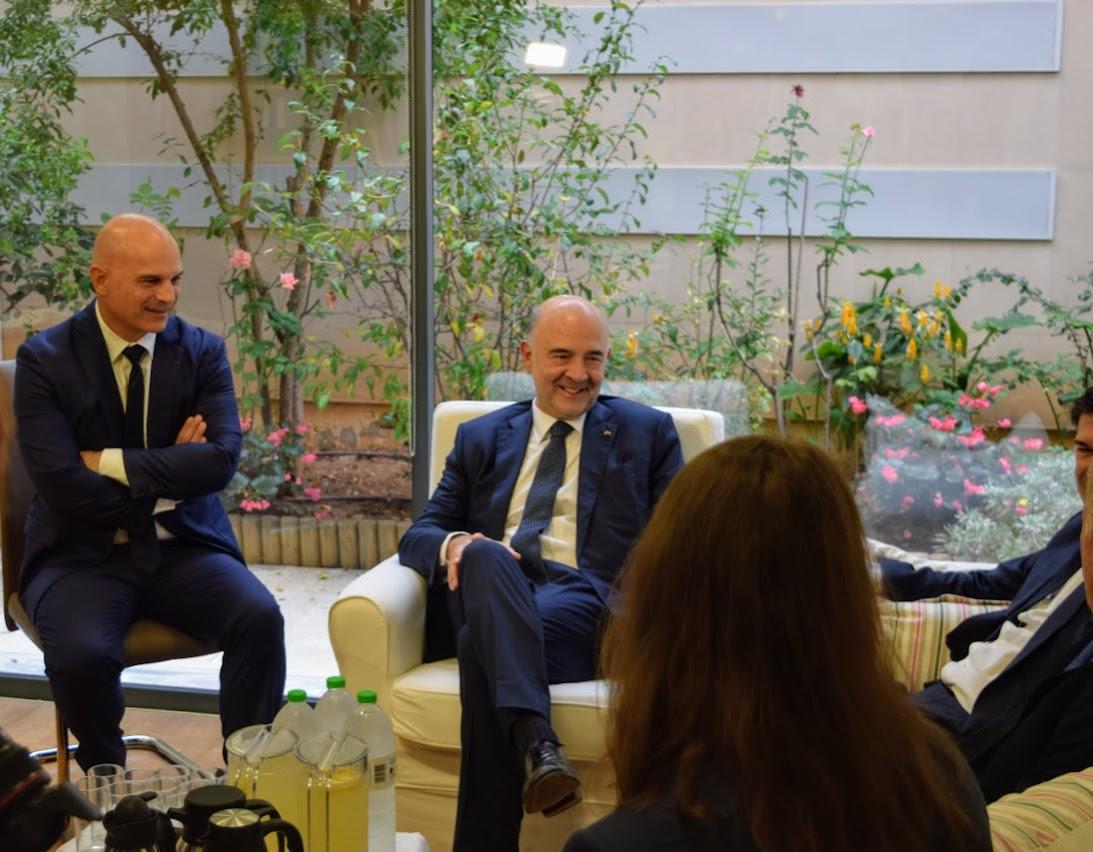 Visite de Pierre Moscovici au LFHED-5