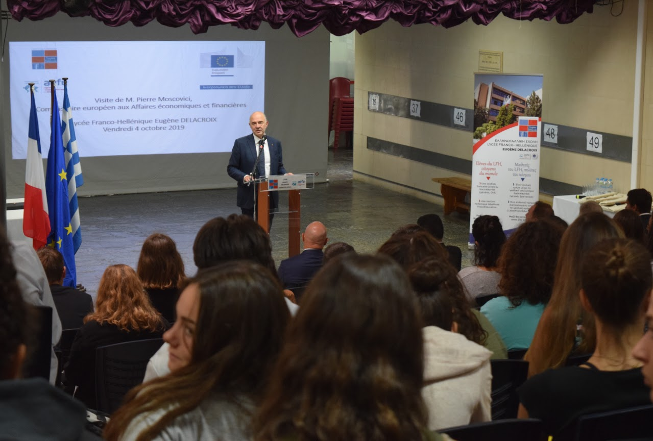 Visite de Pierre Moscovici au LFHED-12