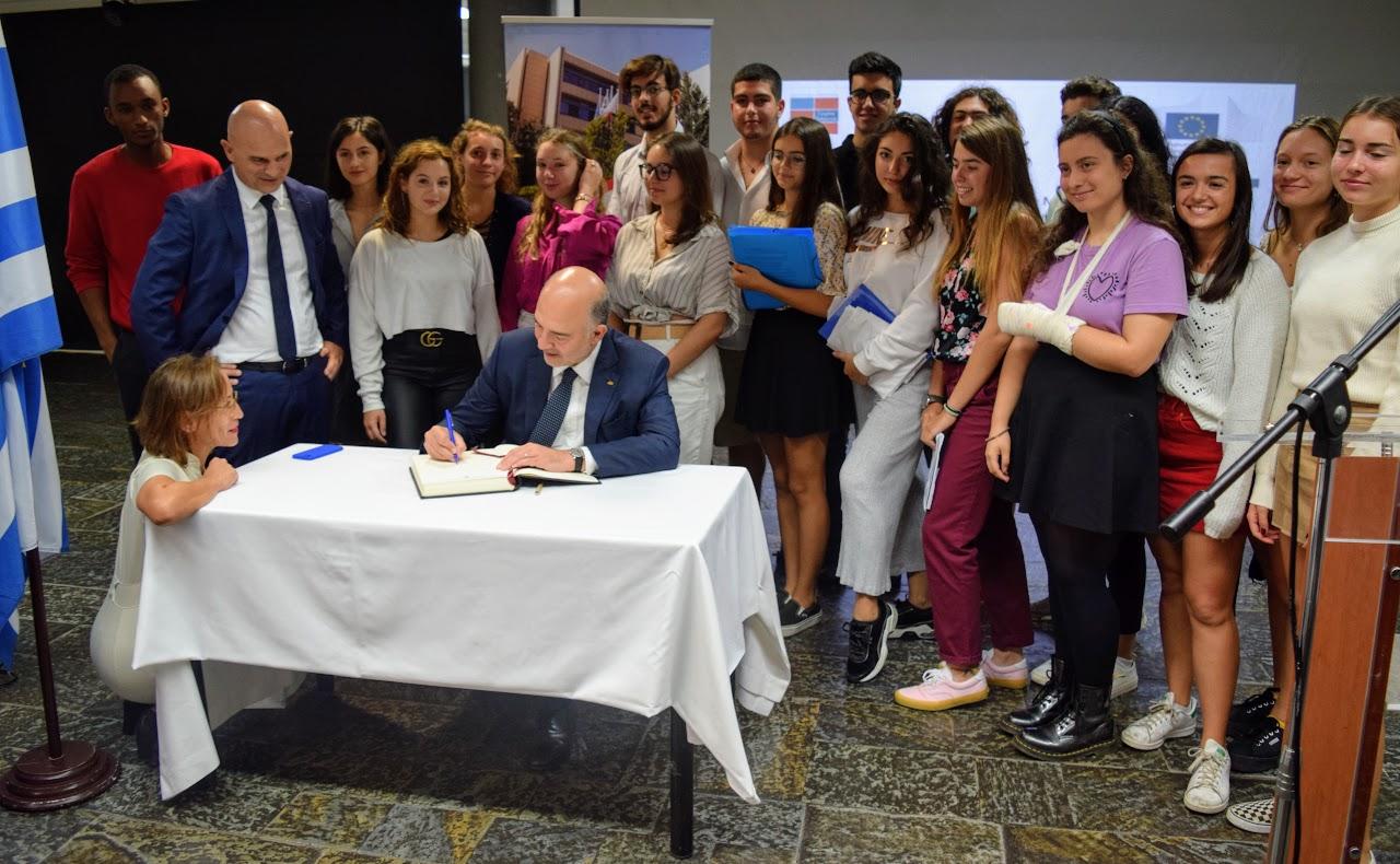 Visite de Pierre Moscovici au LFHED-20