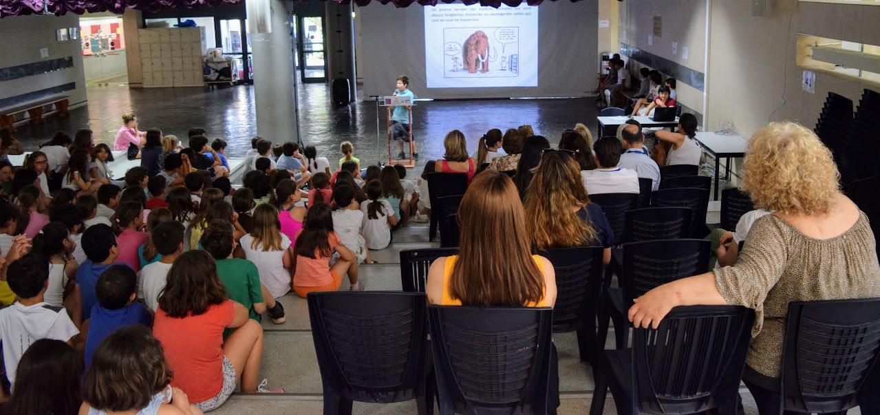 """Les élèves du primaire et du secondaire imaginent """"le monde en 2050""""-0"""
