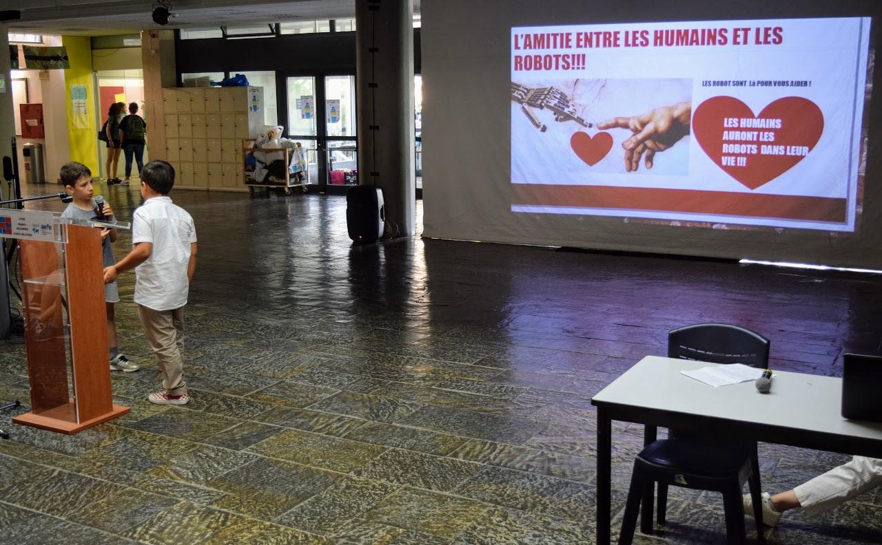 """Les élèves du primaire et du secondaire imaginent """"le monde en 2050""""-3"""