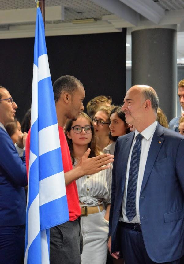 Visite de Pierre Moscovici au LFHED-16