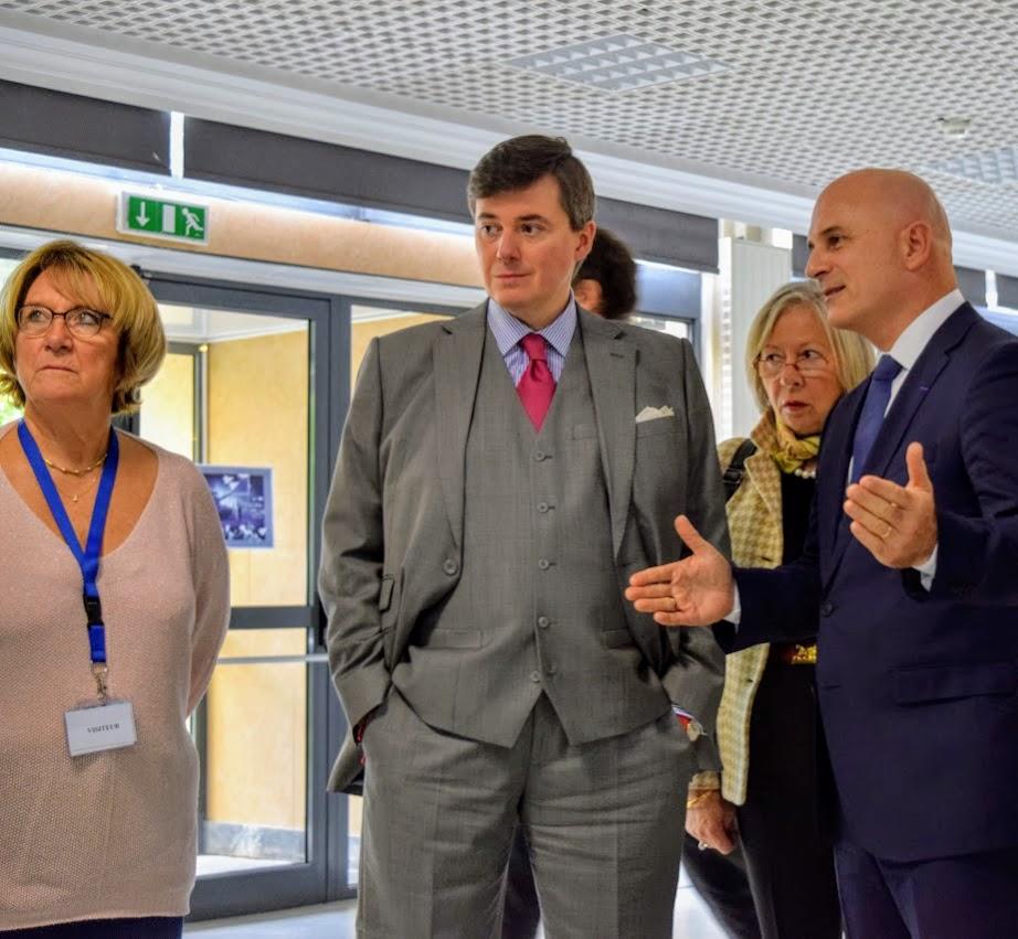 Visite au LFHED de Christophe-André Frassa, Sénateur représentant les Français établis hors de France-2