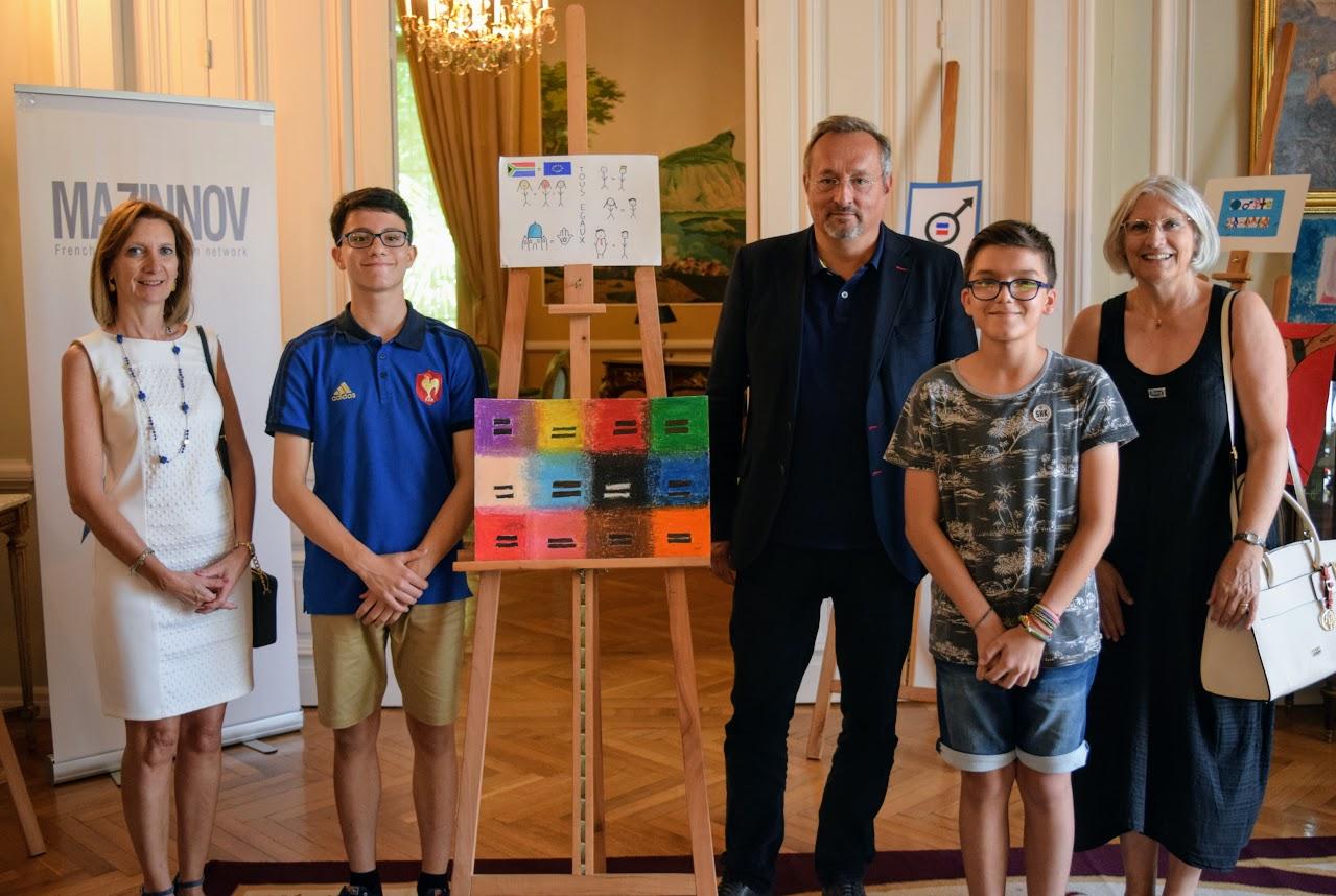 Nos élèves participent au concours de dessin lancé par l'Ambassade sur le thème de l'égalité-0